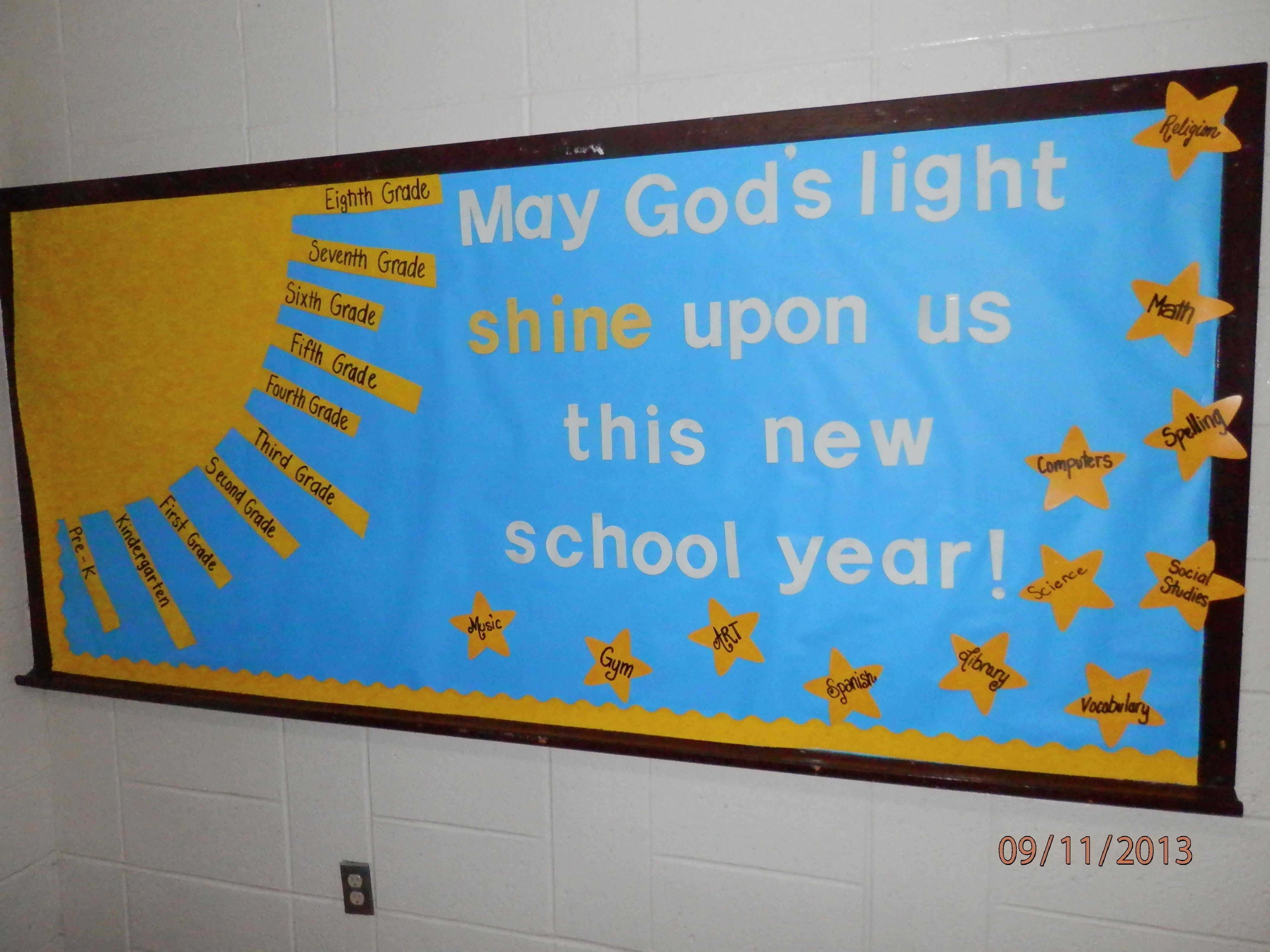 10 Wonderful Beginning Of The Year Bulletin Board Ideas new school year bulletin board beginning of year bulletin board 1 2020