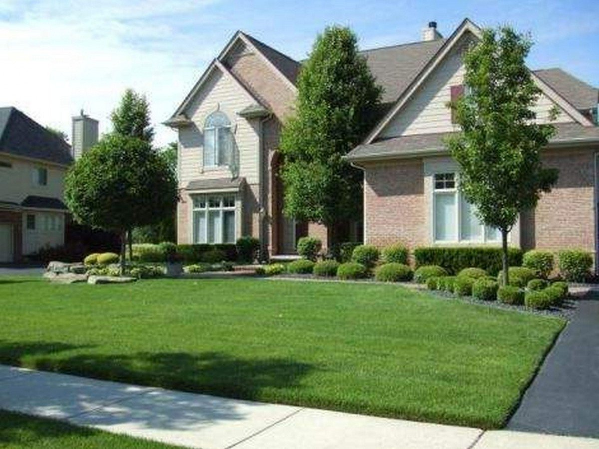 10 Trendy Simple Front Yard Landscaping Ideas new simple front yard landscaping ideas manitoba design easy and 2020