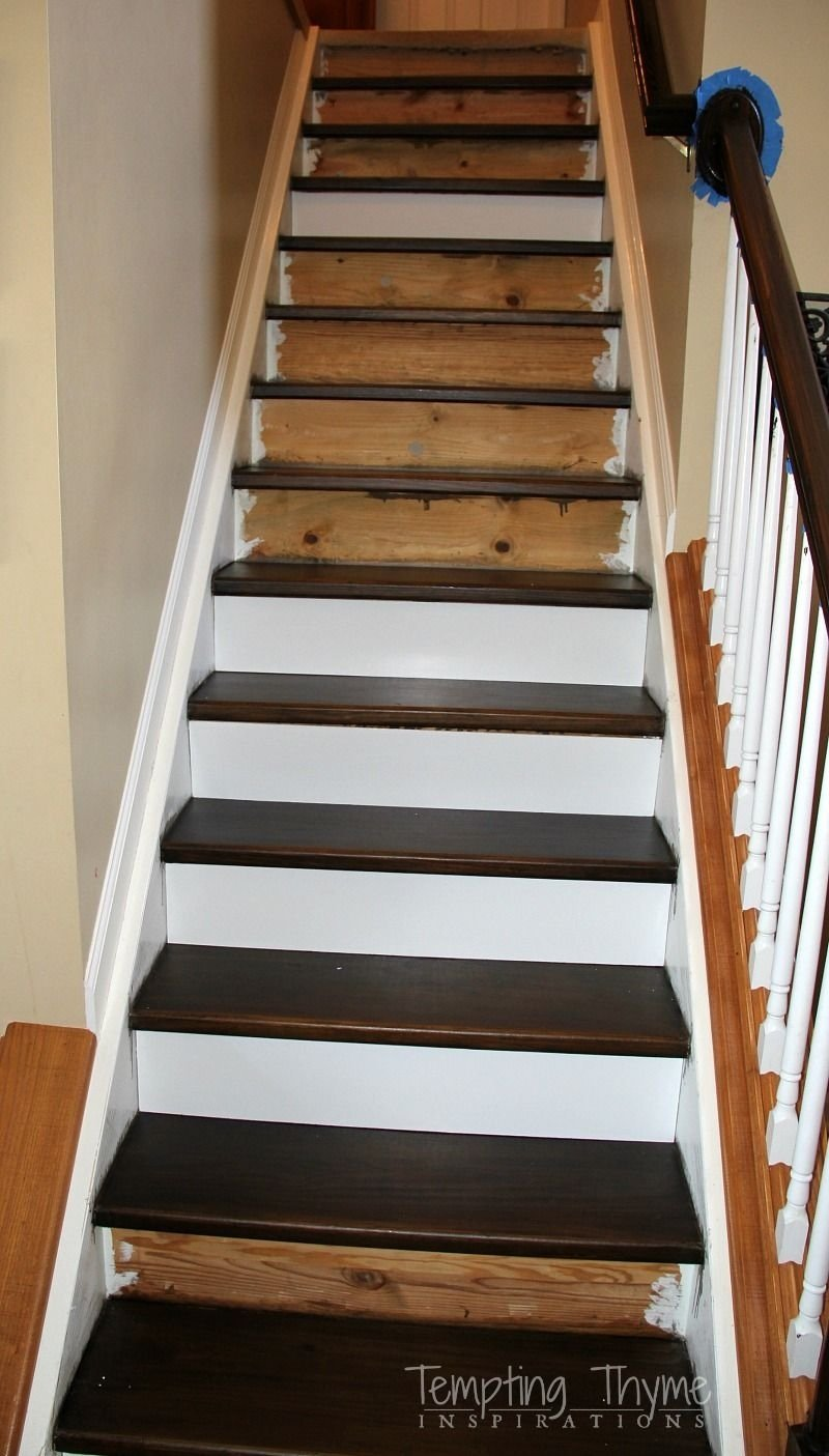 10 Gorgeous Ideas For Stairs Instead Of Carpet new stairs for under 100 heading on up installing new stair 2021