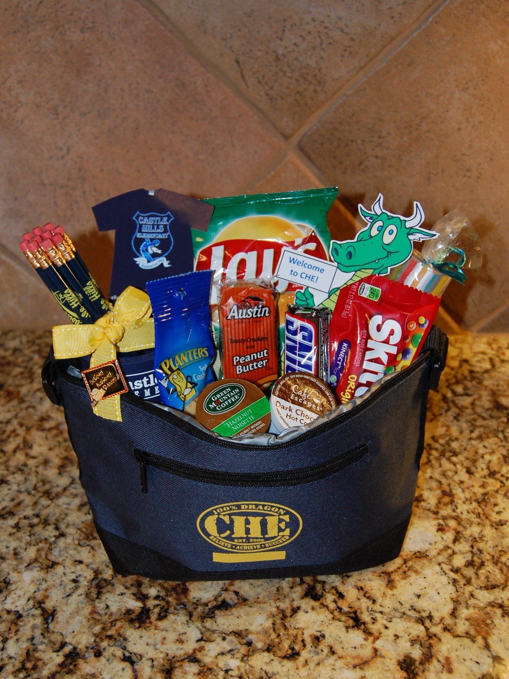 10 Great Gift Basket Ideas For Teachers new teacher welcome baskets pta pso ideas pinterest teacher