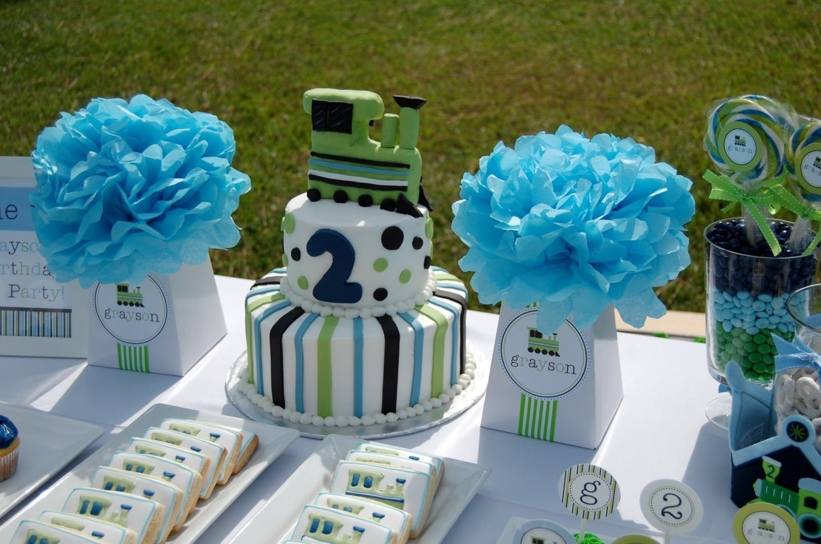 10 Wonderful 2Nd Birthday Party Ideas For A Boy new to the shop vintage train birthday party collection birthdays