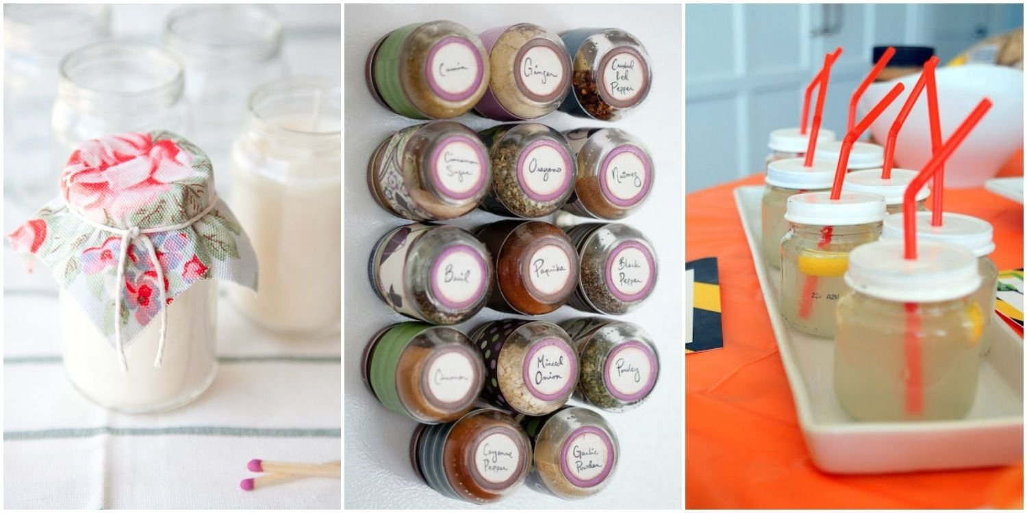 new uses for baby food jars - baby food jar hacks