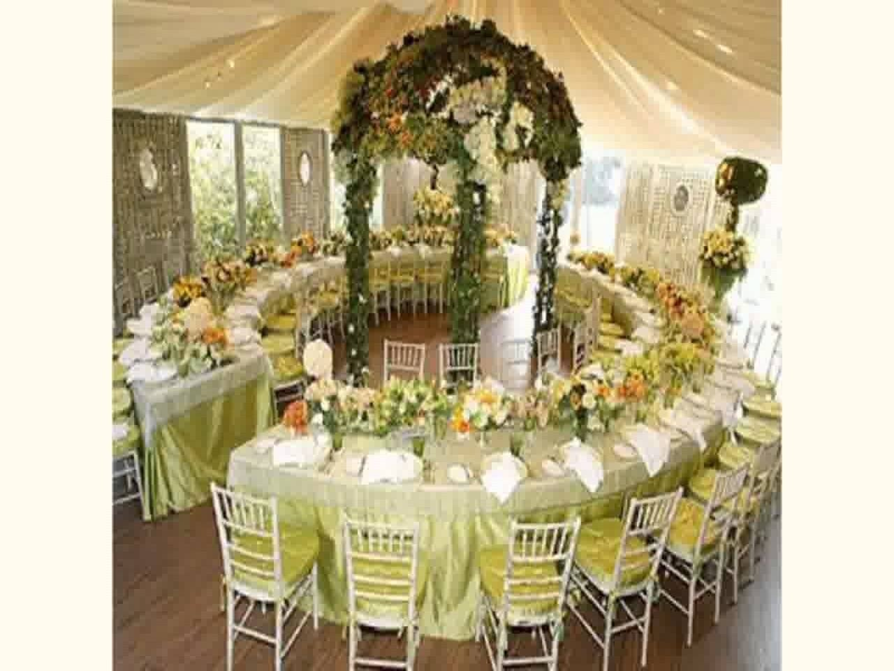 10 Lovely Reception Ideas For Small Weddings new wedding venue decoration youtube 2021