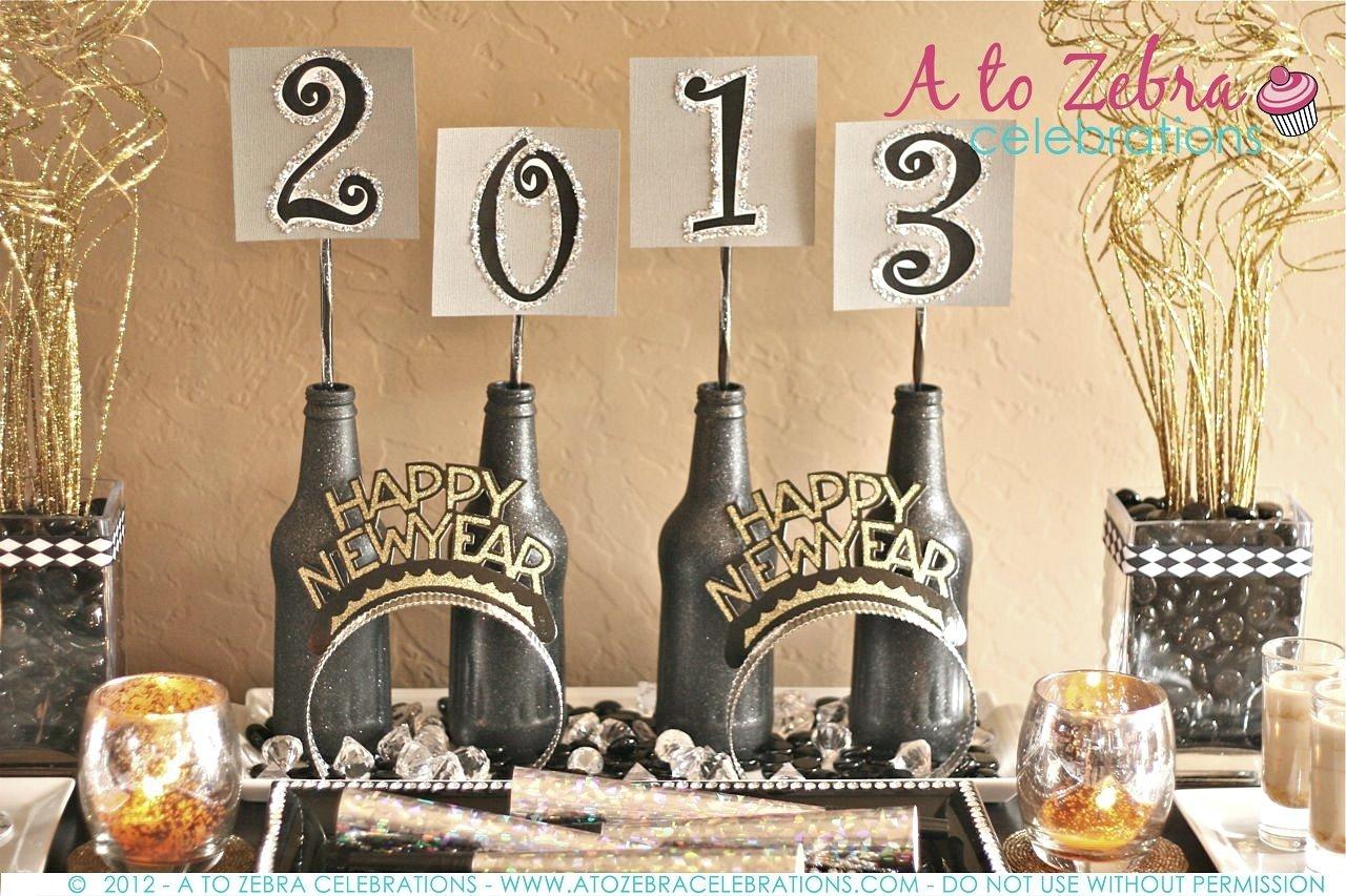 10 Pretty New Years Eve Decorations Ideas new year eve party ideas zebra celebrations home art decor 36295 3 2020
