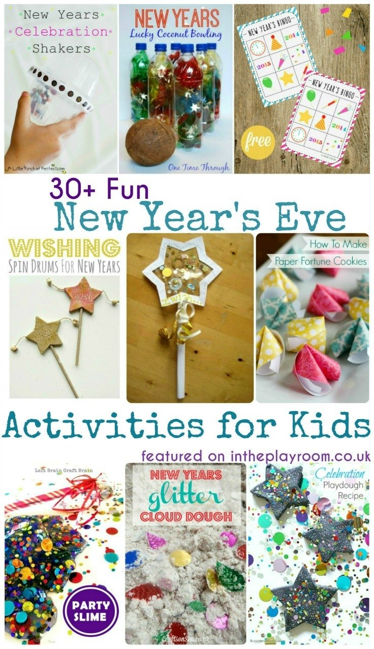 10 Awesome New Years Party Ideas For Kids new years eve activities for kids in the playroom 2021