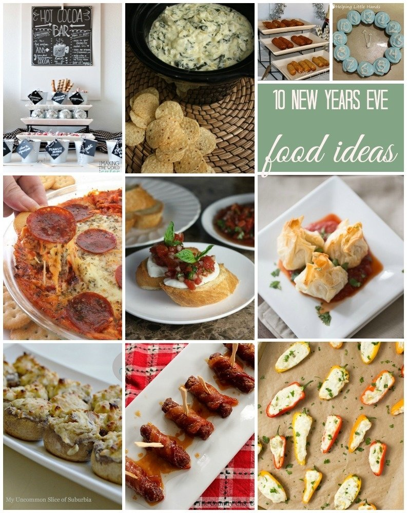 new years eve food ideas and block party - rae gun ramblings
