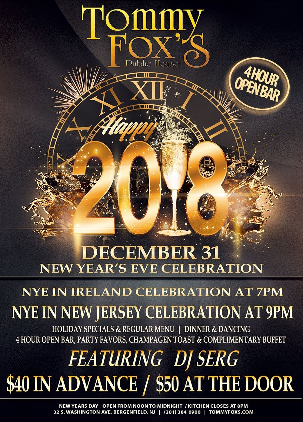 new year's eve parties in northern new jersey 2018 – steppin' out