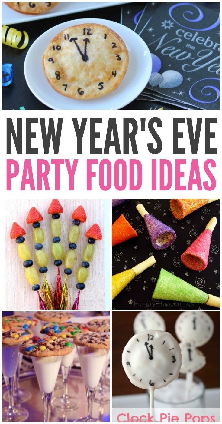 10 Spectacular Food Ideas For New Years Eve Party new years eve party food ideas kreative in life 1 2020