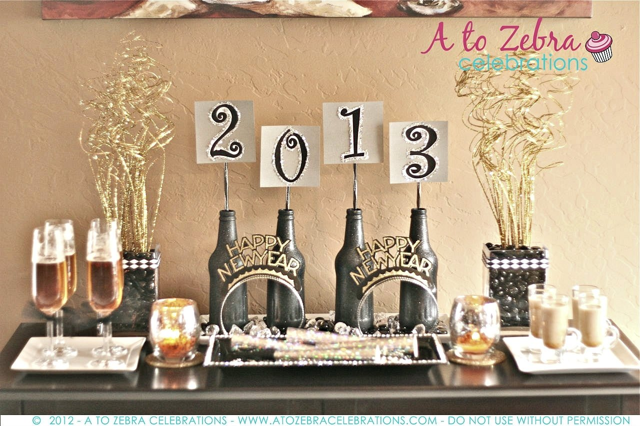 10 Pretty New Years Eve Decorations Ideas new years eve party ideas a to zebra celebrations 8 2020