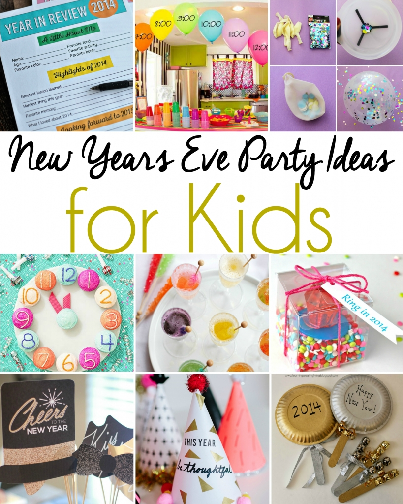 new years eve party ideas for kids | simply being mommy