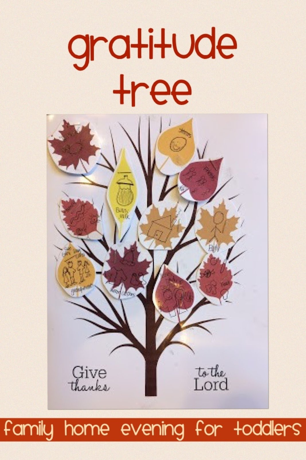 10 Elegant Family Home Evening Ideas For Toddlers news with naylors gratitude 2 gratitude tree thanksgiving 2021