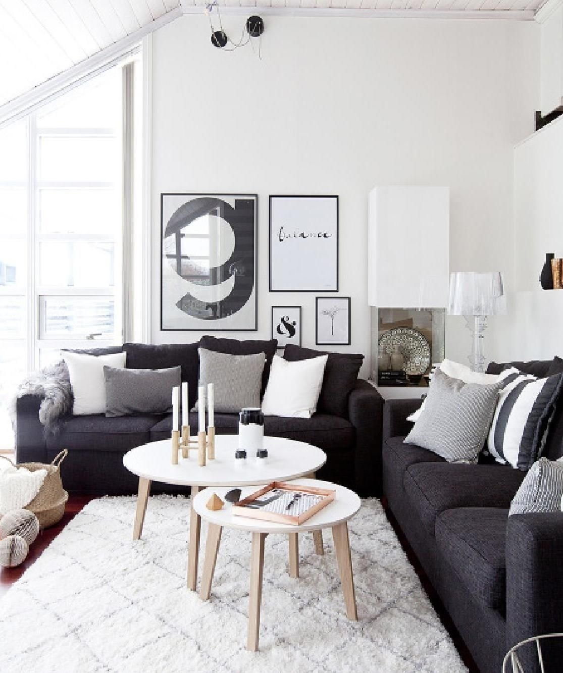 10 Fashionable Black Couch Living Room Ideas nibhjemme 6 living rooms room and interiors