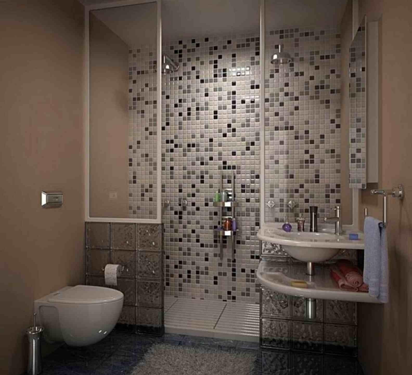 10 Unique Tile Ideas For Small Bathroom nice tile ideas for small bathrooms tile ideas for small bathrooms 2020