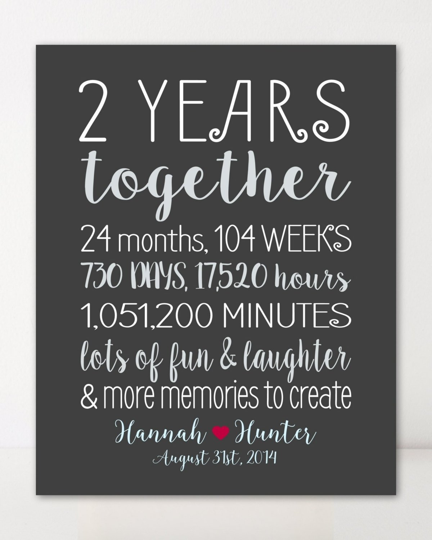 10 Spectacular 2 Year Anniversary Ideas For Girlfriend nice wedding anniversary gifts for him 2 year boyfriend gift jemonte 2021
