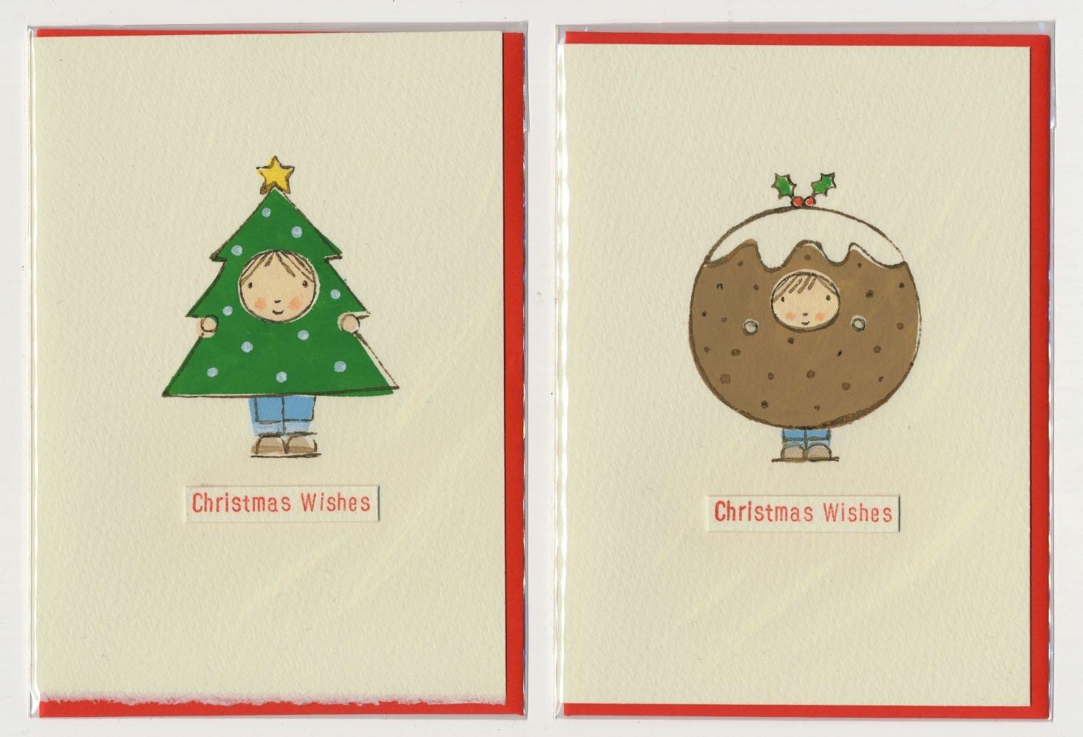 10 Trendy Cute Christmas Card Ideas For Kids nicola killen new handmade christmas cards 2021