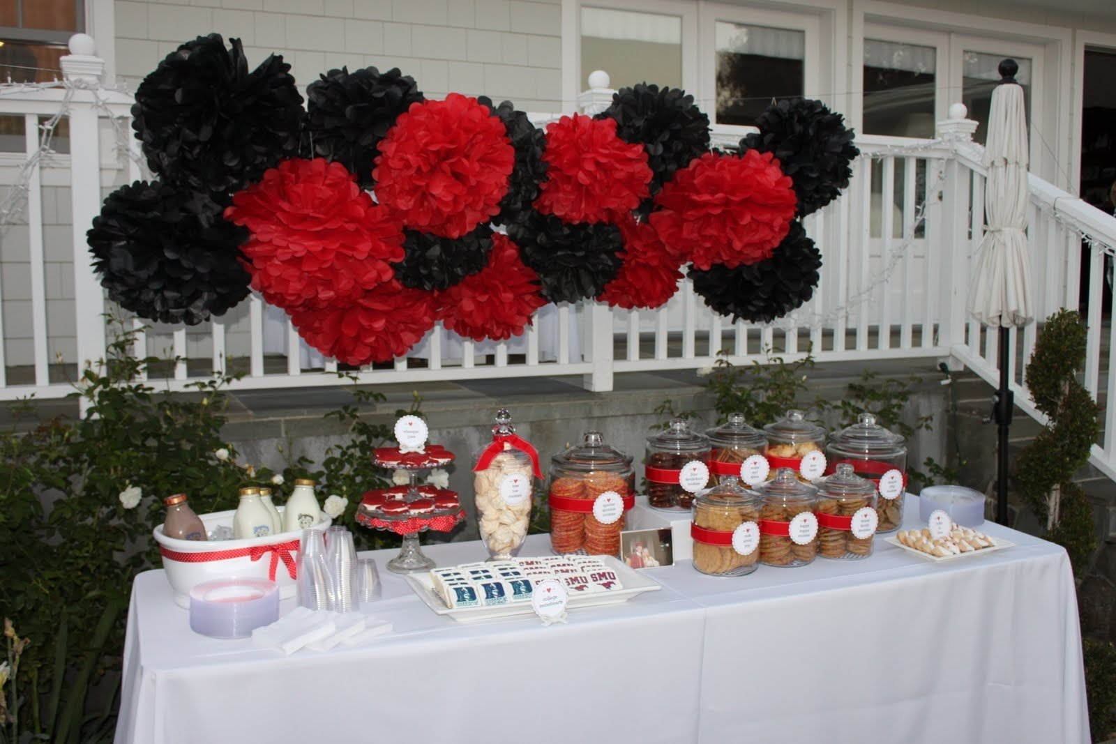 10 Spectacular Red And White Party Ideas nicoles guide to style engagement party decor black and red party 2021