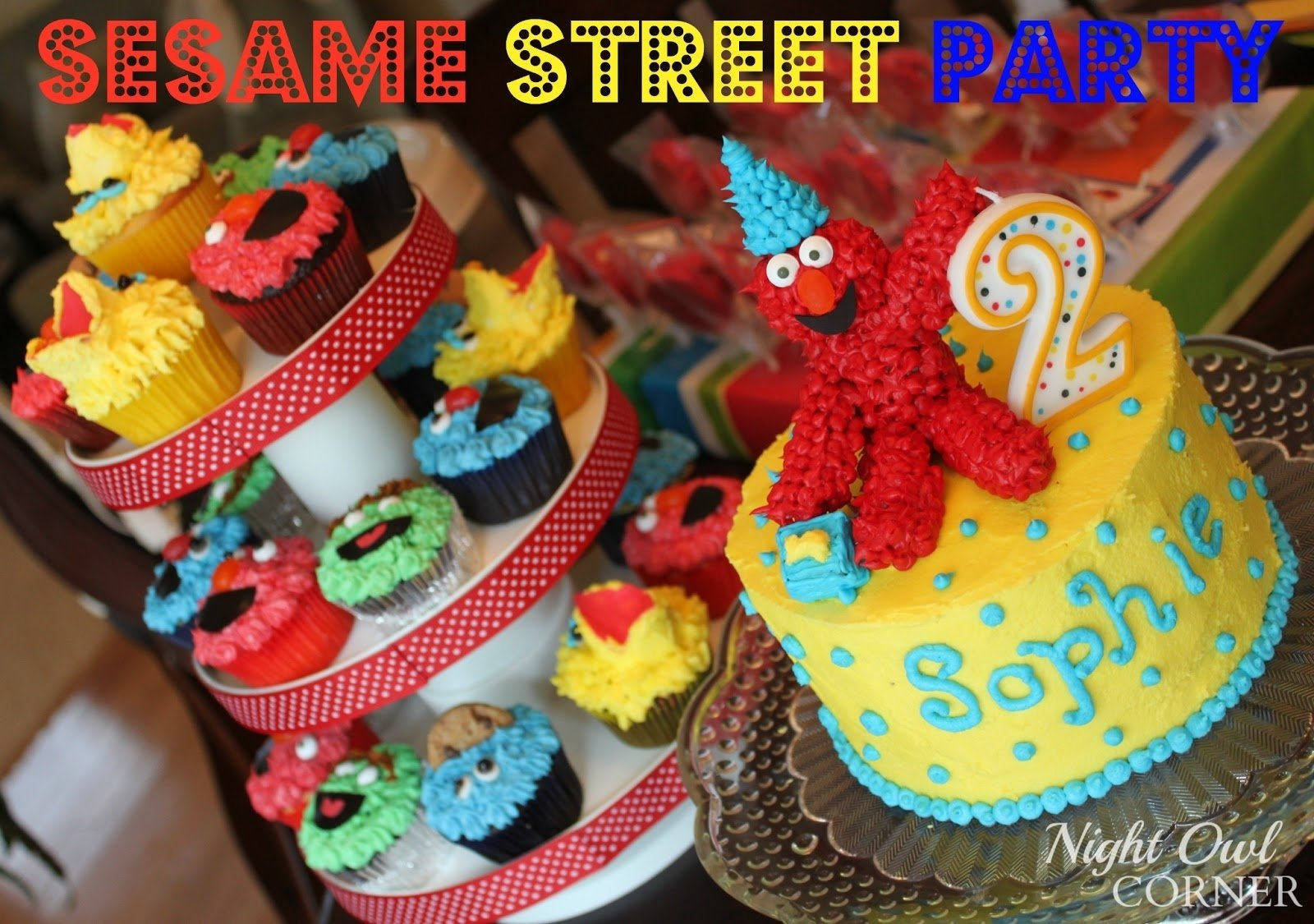 10 Lovely Sesame Street Party Ideas Decorations night owl corner sesame street birthday party 2020