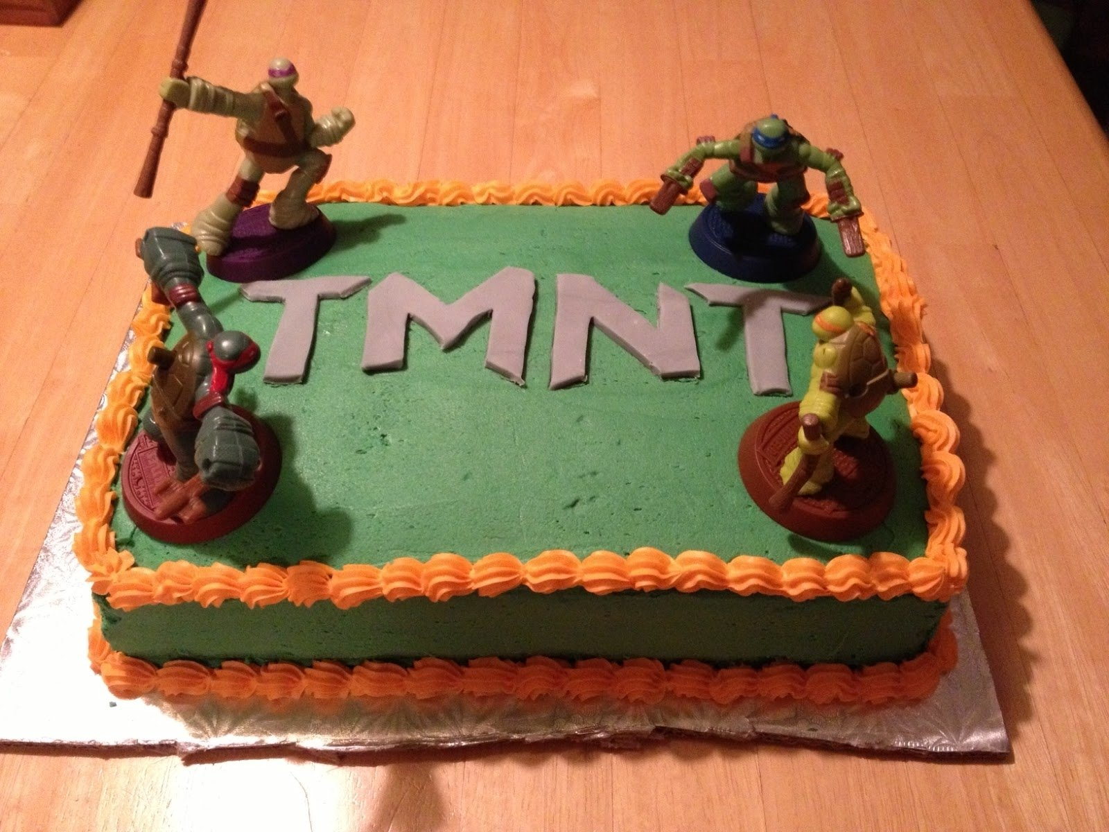 ninja turtle cakes – decoration ideas | little birthday cakes