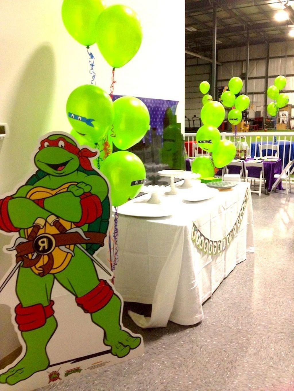 10 Best Ninja Turtle Party Decoration Ideas ninja turtle party decorations unique ninja turtle decorations 2020