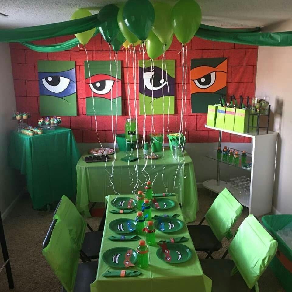 10 Best Ninja Turtle Party Decoration Ideas ninja turtle party pinteres 2020