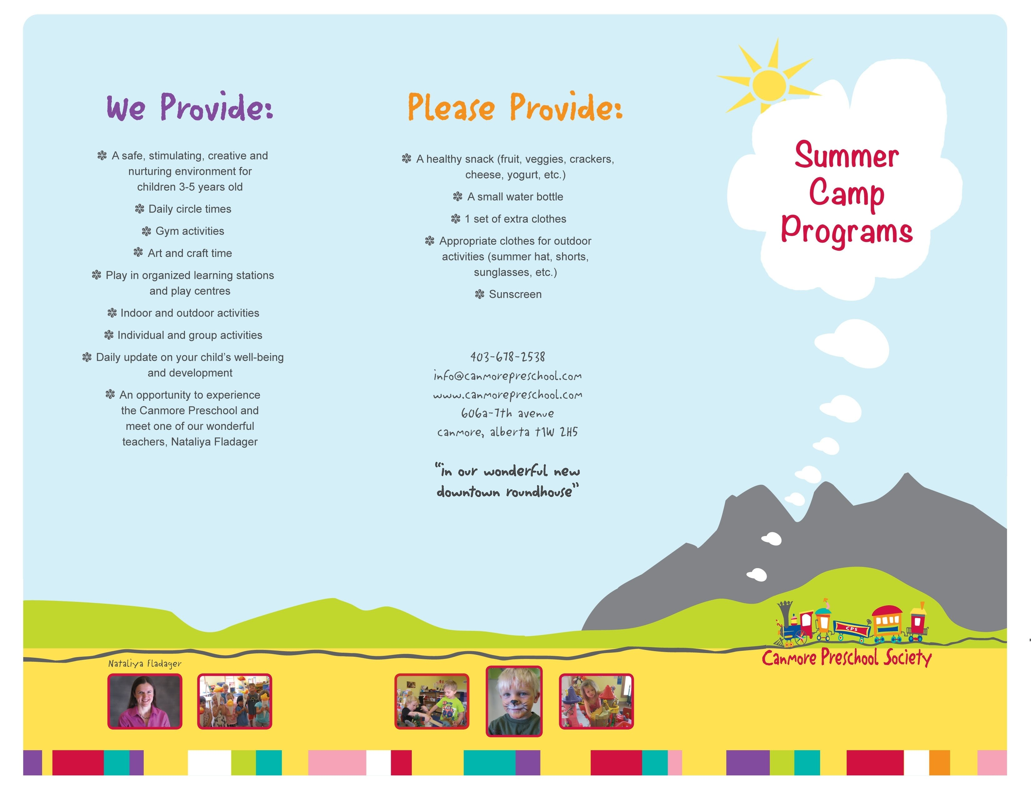 10 Perfect Preschool Summer Camp Theme Ideas no summer camps planned for 2017 canmore preschool
