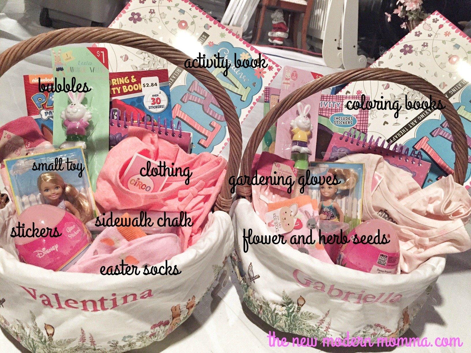 10 Cute Non Candy Easter Basket Ideas non candy easter basket ideas 1 2020