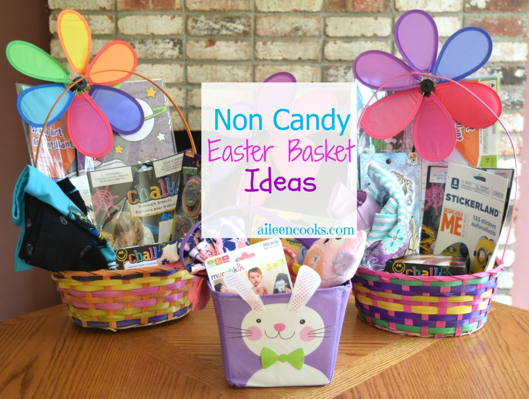 10 Cute Easter Basket Ideas For Infants non candy easter basket ideas aileen cooks 2021