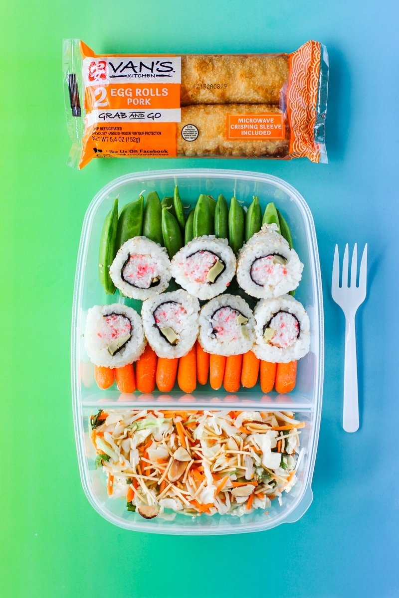 10 Stylish Grab And Go Lunch Ideas non sandwich lunch ideas with vans kitchen egg rolls 2020
