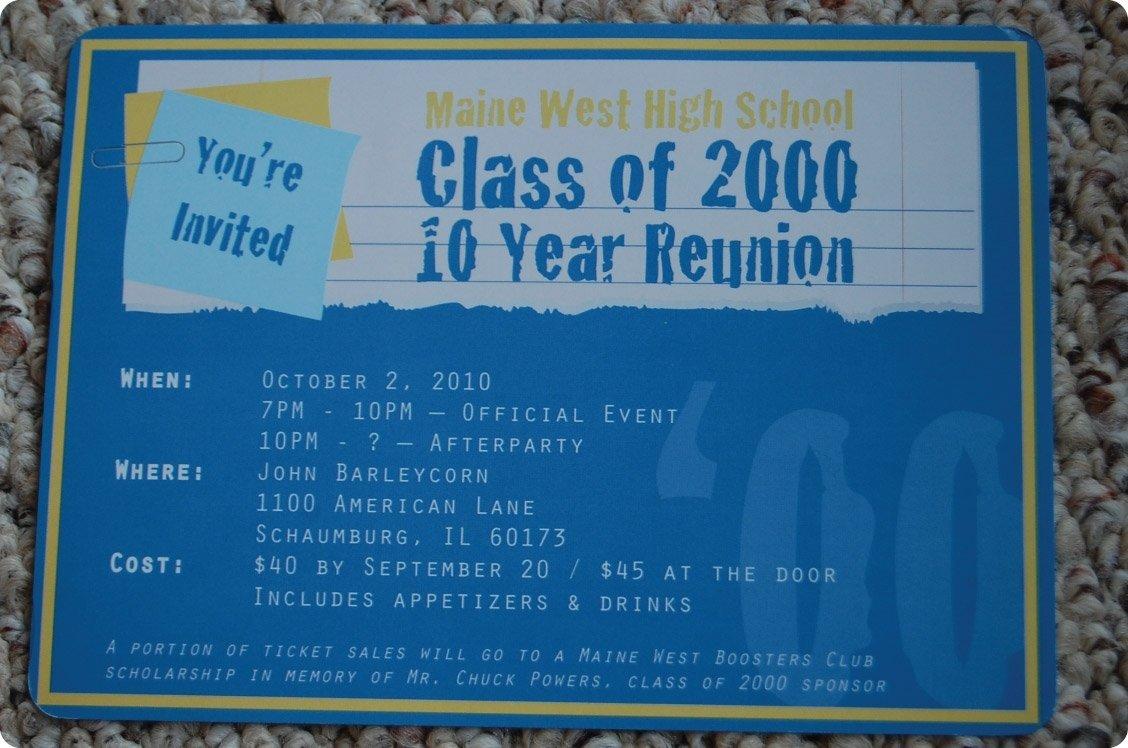 10 Beautiful 10 Year High School Reunion Ideas nostalgic high school reunion 2021