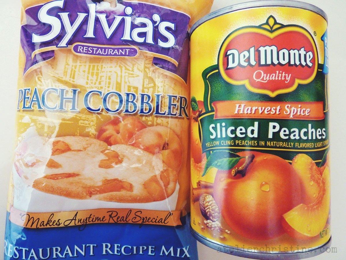 10 Best Quick Soul Food Dinner Ideas not from scratch peach cobbler a sylvias restaurant recipe mix 2020