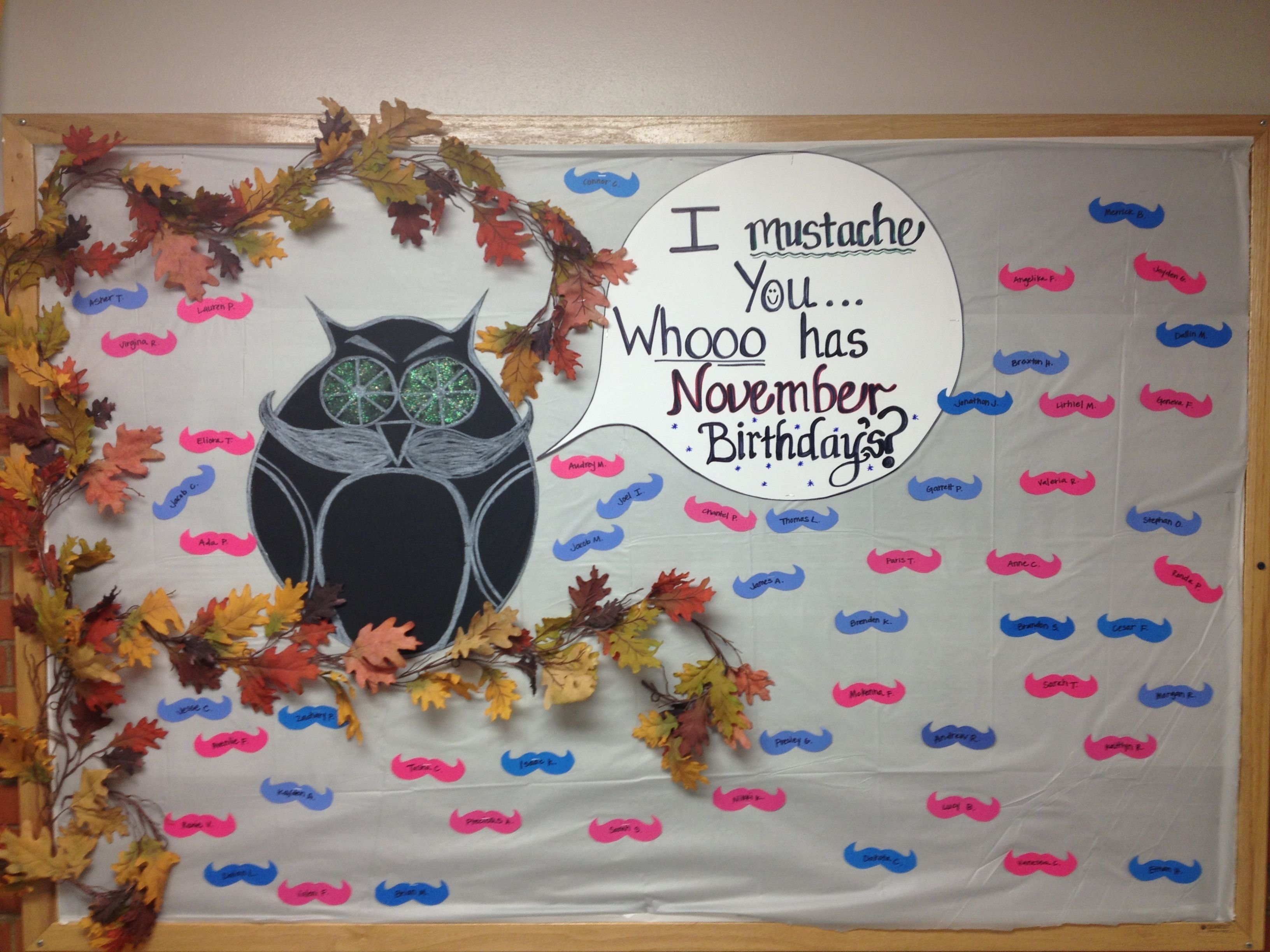 10 Famous Bulletin Board Ideas For November november birthday bulletin board i volunteered for november and 1 2021