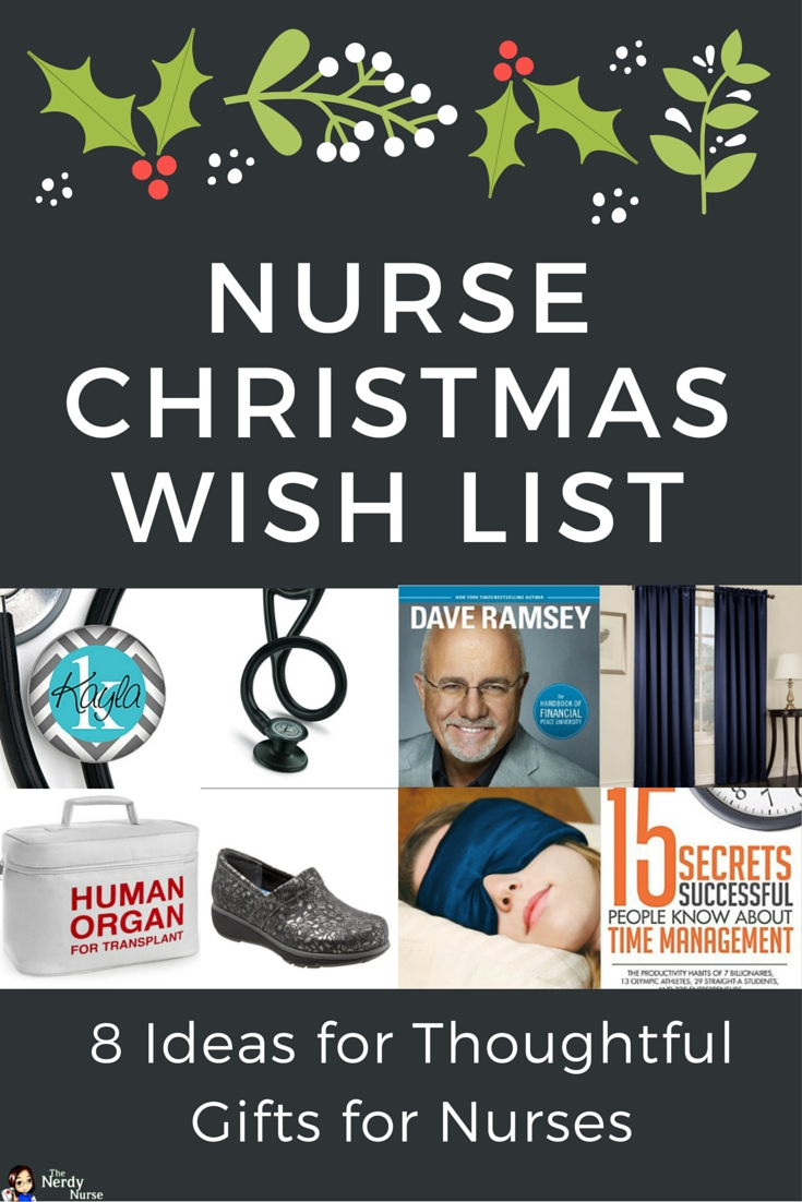 10 Awesome Gift Ideas For Nursing Students nurse christmas wish list 8 ideas for thoughtful gifts for nurses 2020