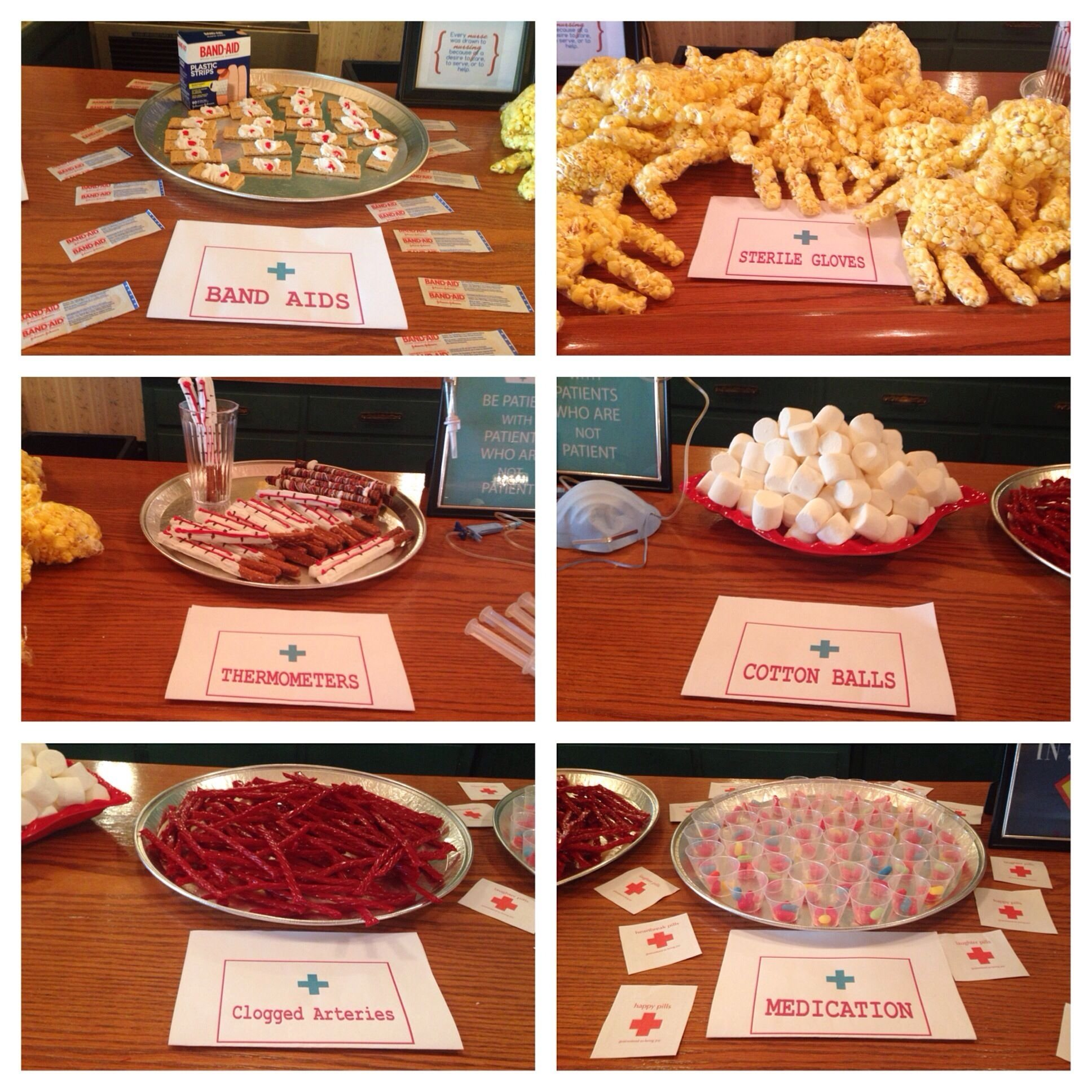 10 Spectacular Food Ideas For Graduation Open House nurse graduation party decorations college graduation table my