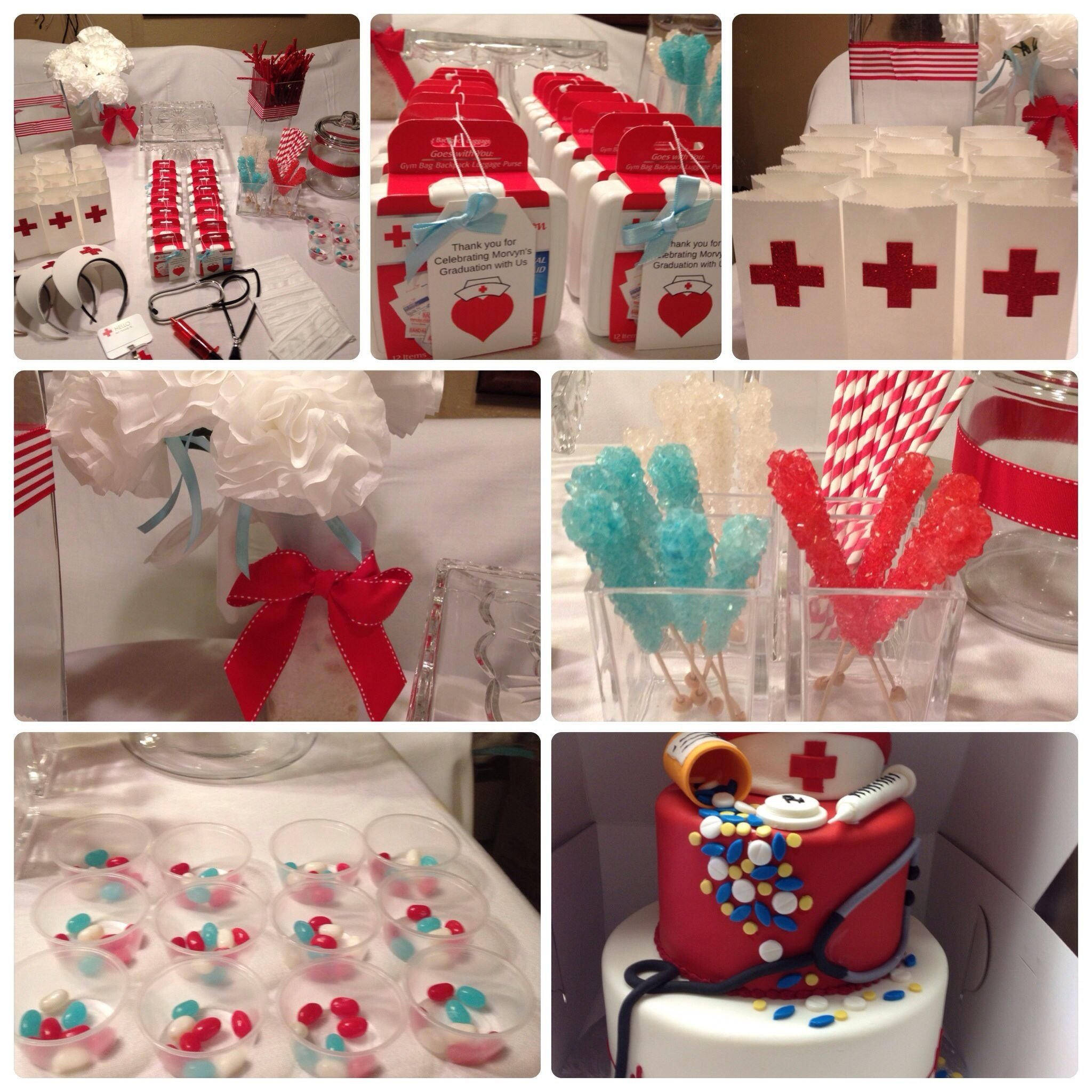 10 Cute Medical School Graduation Party Ideas nurse graduation party partys at my house pinterest grad 2020