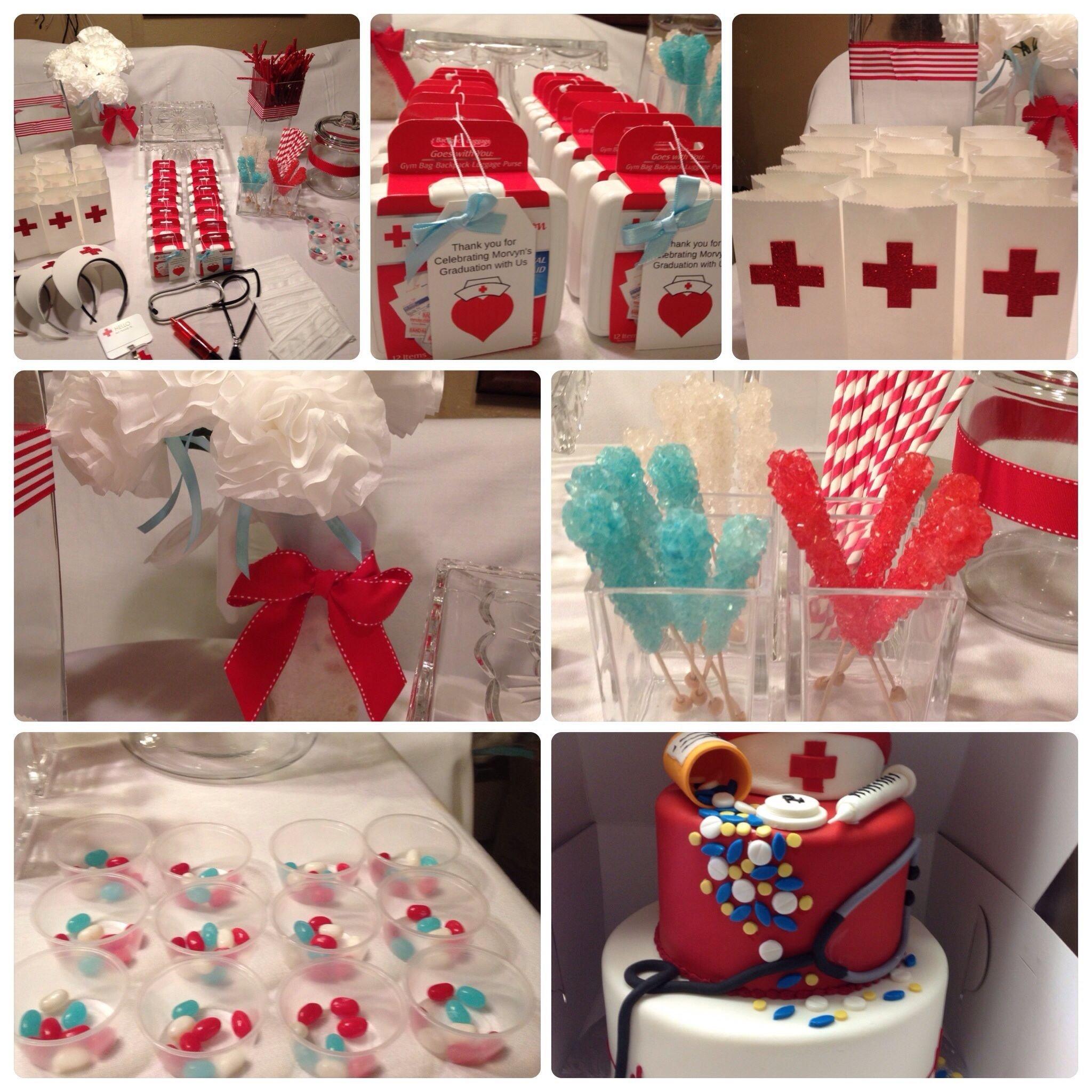 10 Cute Medical School Graduation Party Ideas nurse graduation party partys at my house pinterest grad 2020