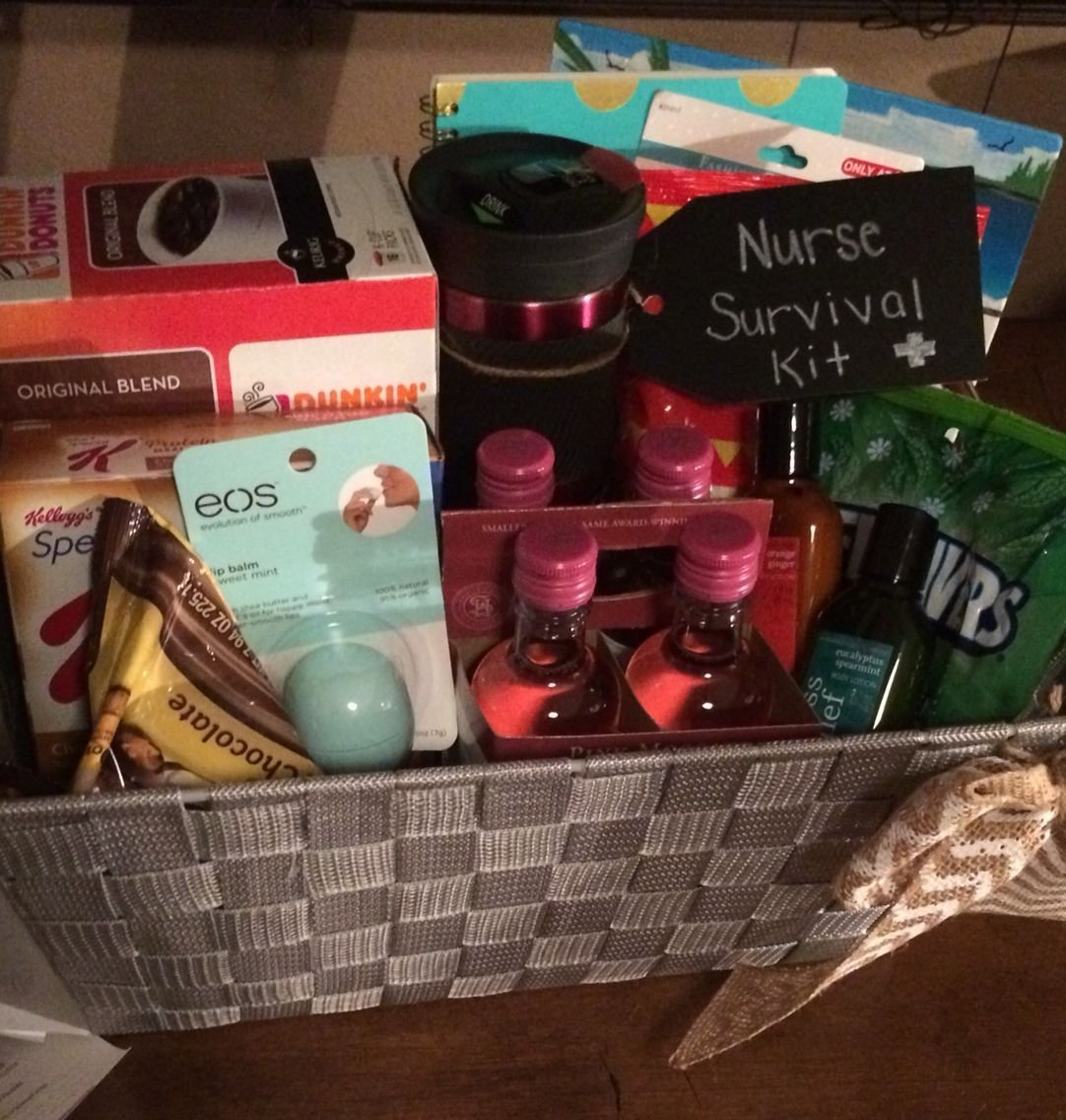 10 Awesome Gift Ideas For Nursing Students nurse survival kit graduation gift a work related stuff 2020