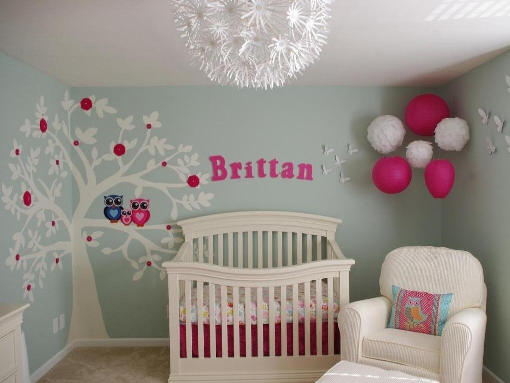 10 Cute Baby Room Ideas For A Girl nursery ideas for girls to embellish the place designinyou 1 2020