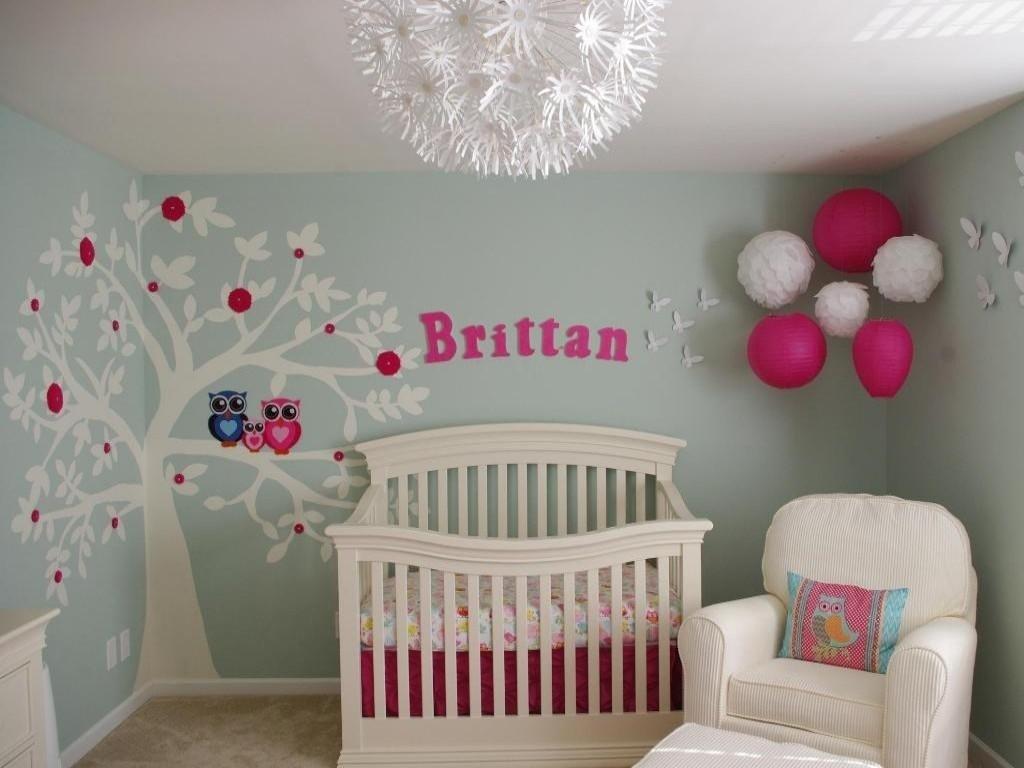10 Spectacular Baby Nursery Ideas For Girls nursery ideas for girls to embellish the place designinyou 2021