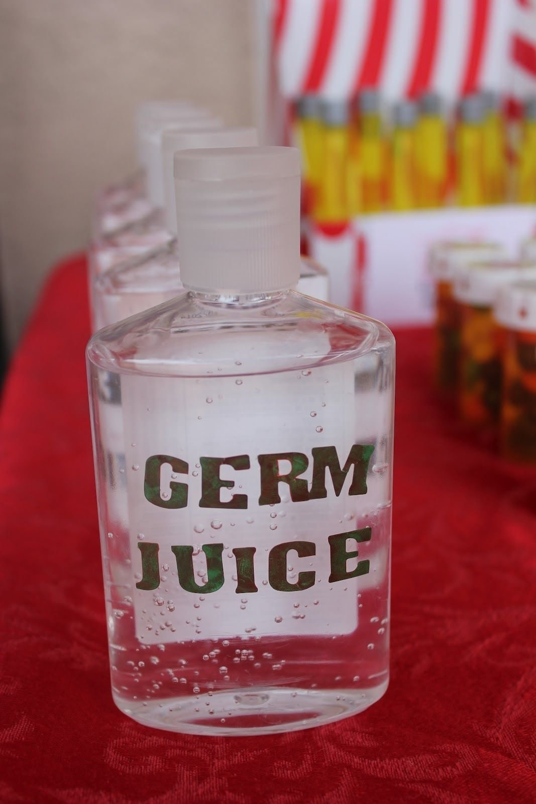 10 Great Nursing School Graduation Party Ideas nursing graduation party ideas the germ juice is hand sanitizer 2020