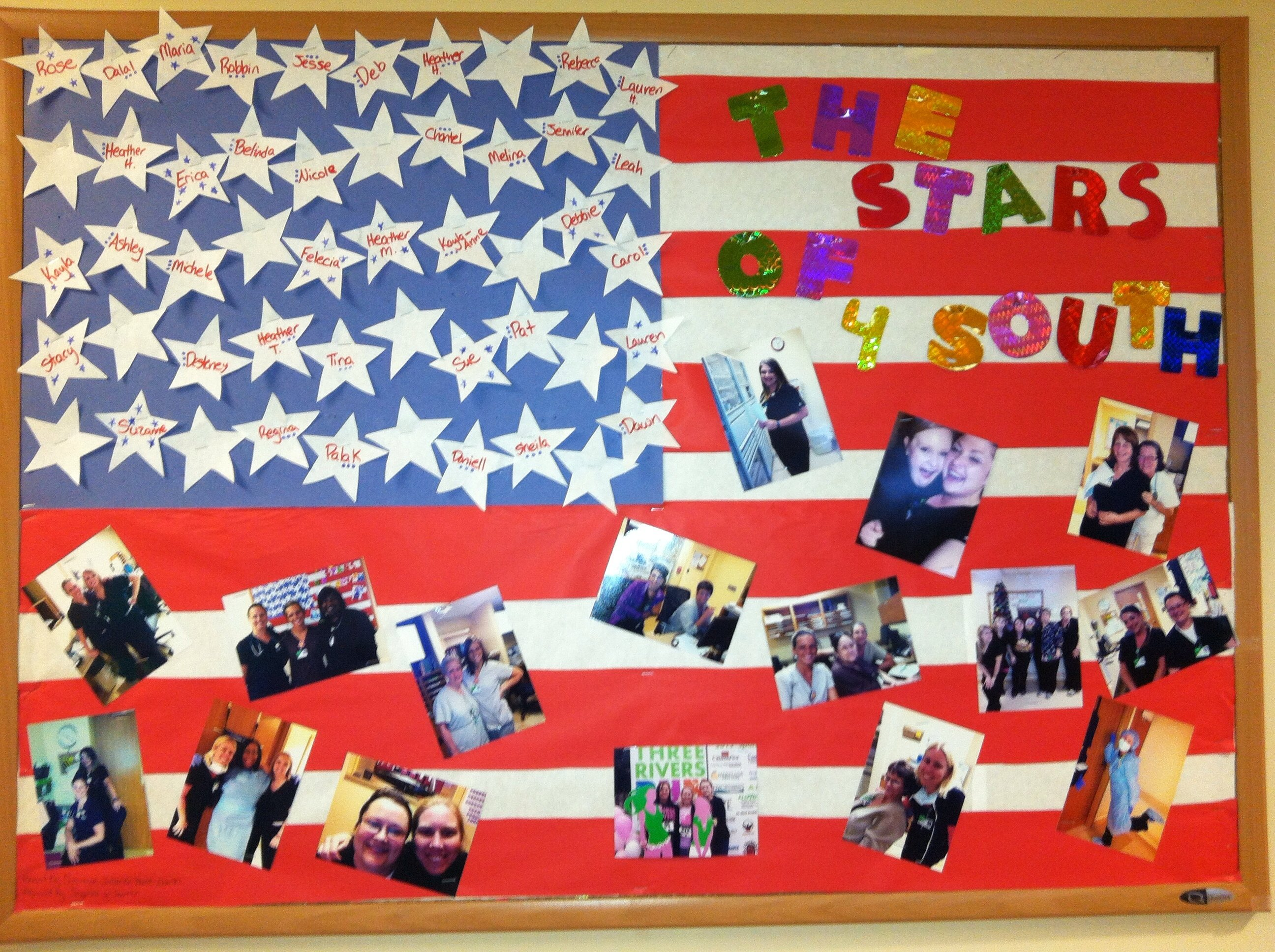 10 Fantastic 4Th Of July Bulletin Board Ideas nursing unit bulletin board for 4th of july hospital ideas