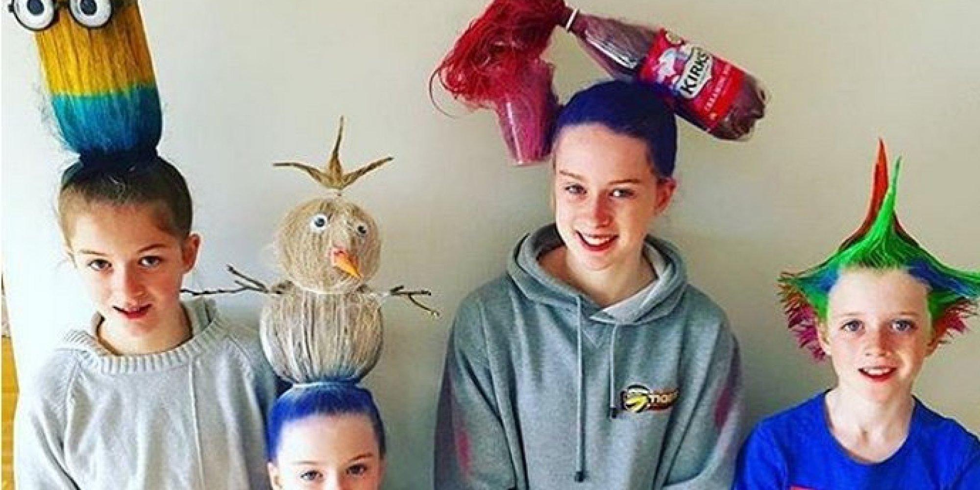 10 Fantastic Ideas Crazy Hair Day School o crazy hair day ideas facebook scoilmhuiretullamoreblog 1 2021