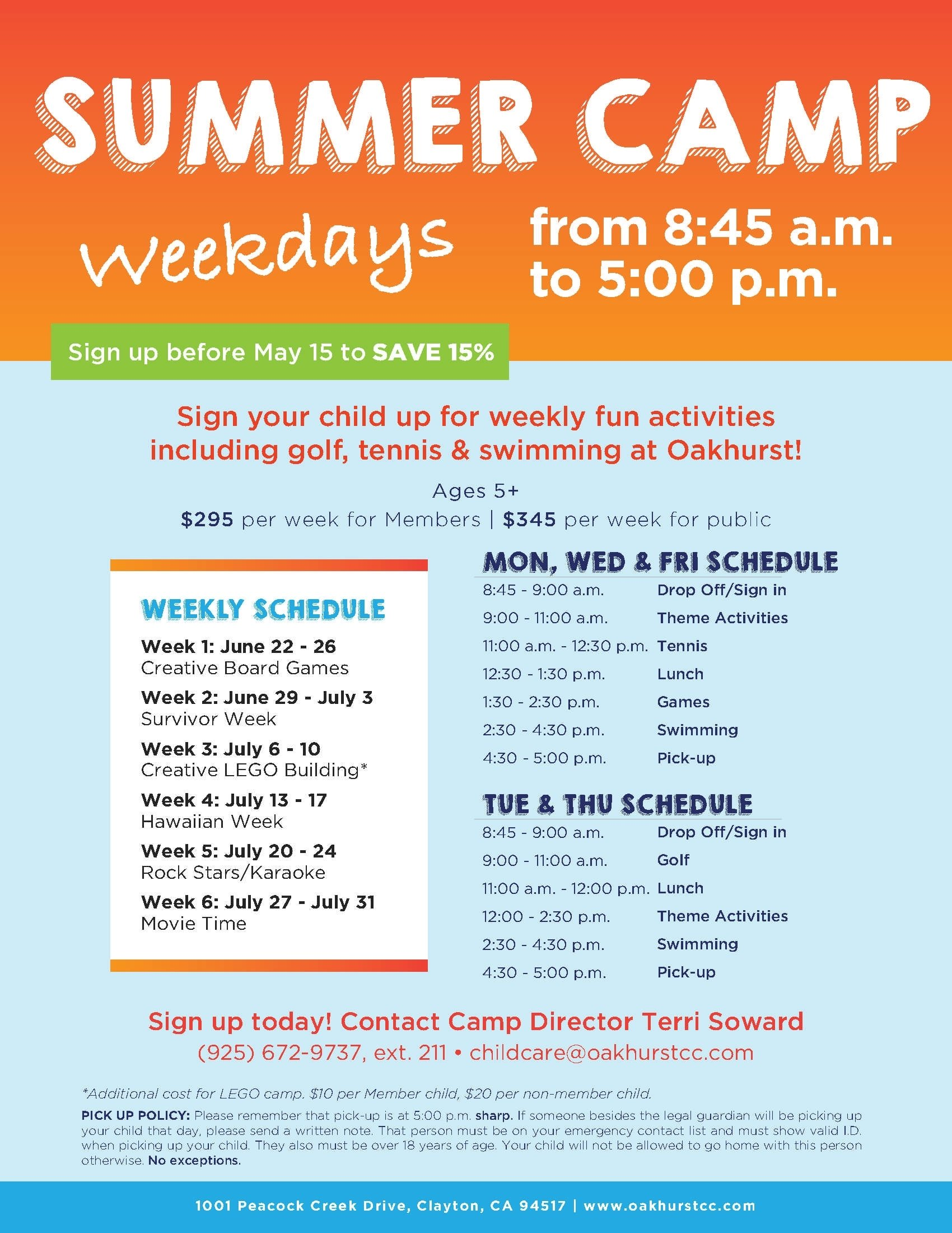 10 Perfect Preschool Summer Camp Theme Ideas oakhurst summer camp flyer template kids pinterest flyer