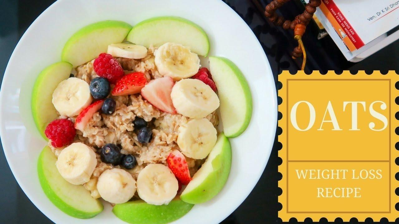 10 Wonderful Healthy Breakfast Ideas To Lose Weight oats recipe for weight loss indian healthy breakfast ideas youtube 4