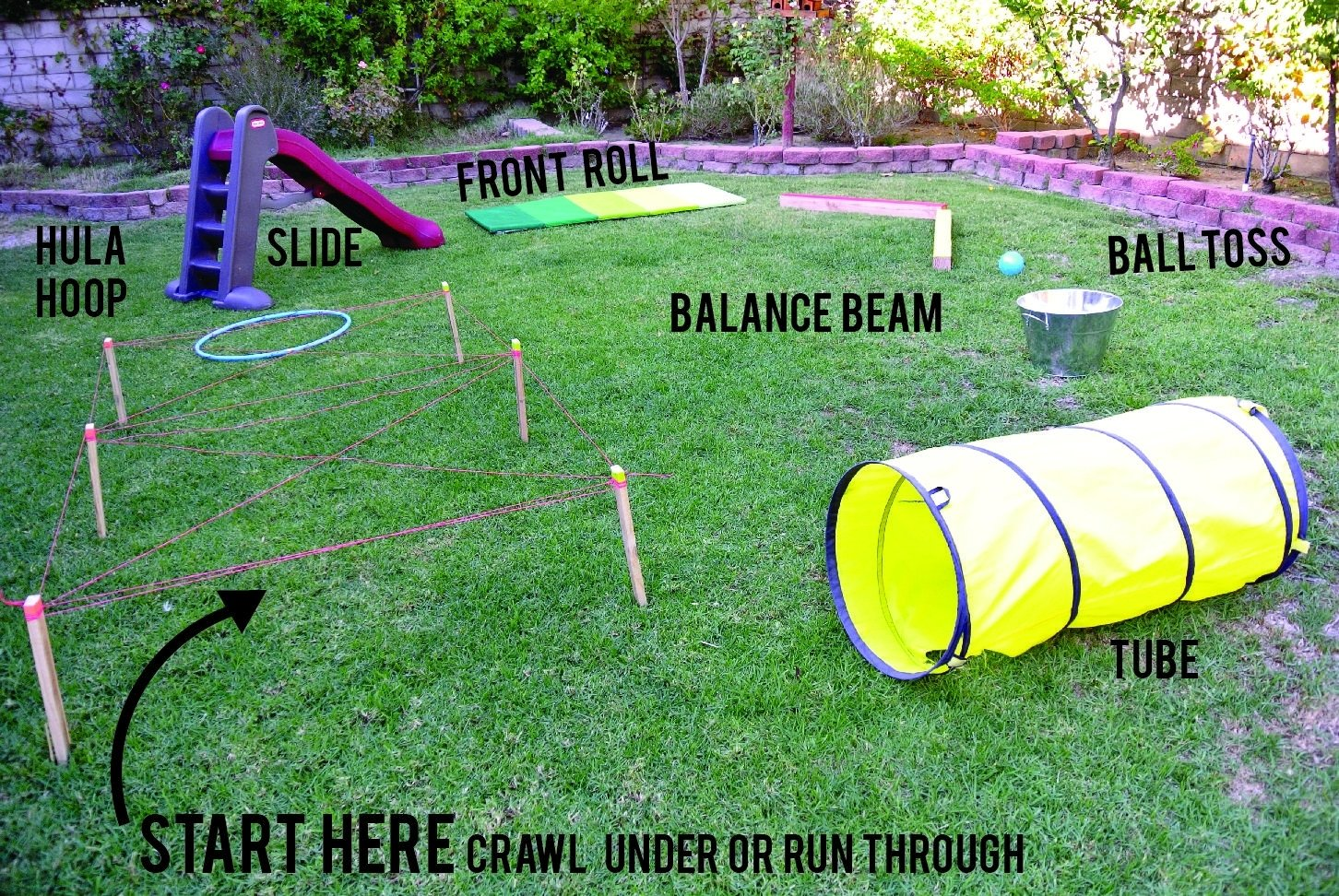 10 Fantastic Fun Obstacle Course Ideas For Adults obstacle course 2 pinteres 1