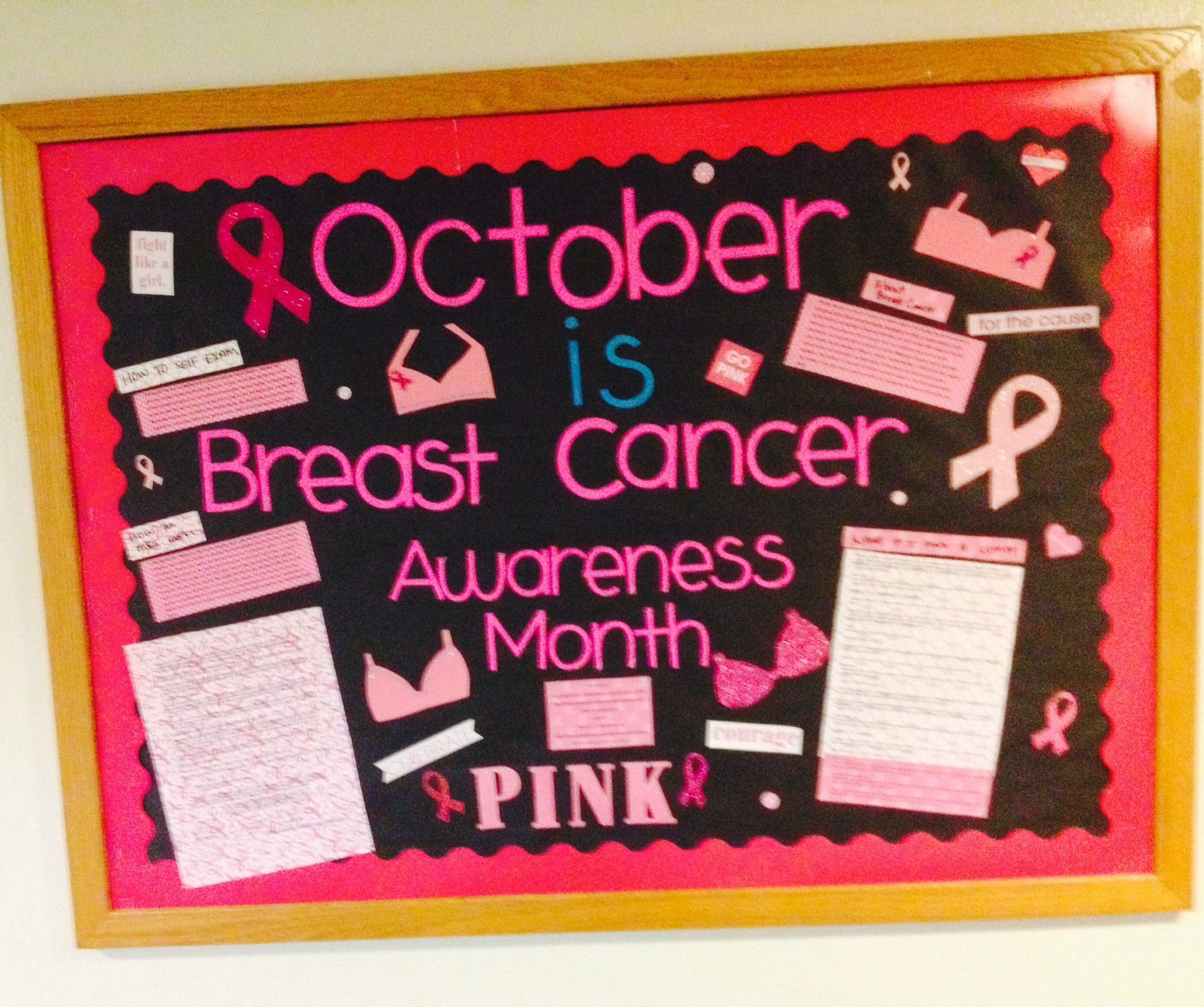 10 Best Breast Cancer Bulletin Board Ideas october breast cancer awareness bulletin board ideas pinterest