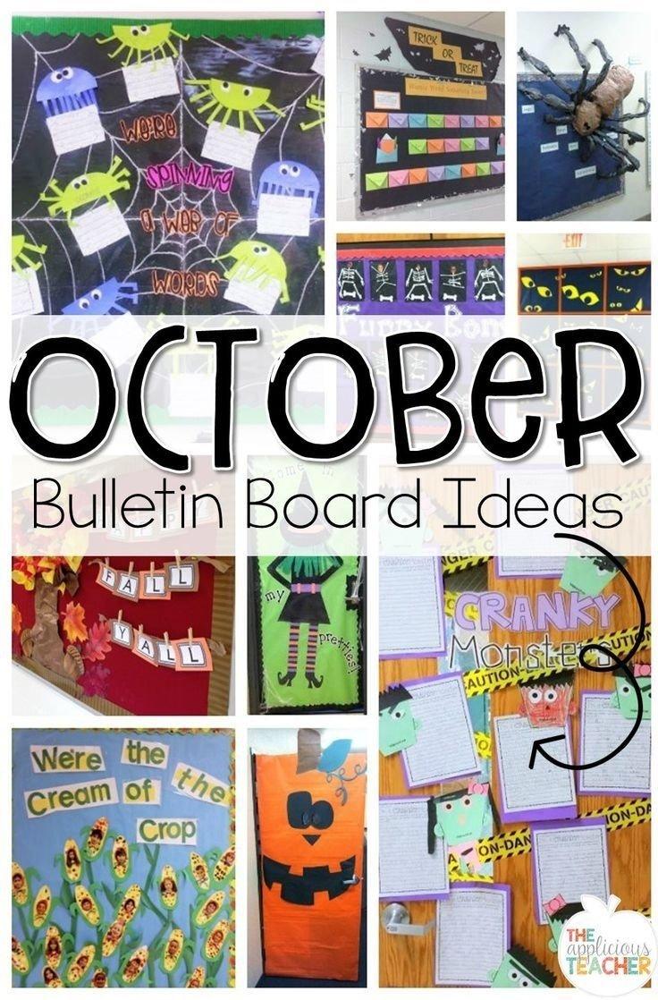 10 Fantastic Fall Halloween Bulletin Board Ideas october bulletin boards ideas for bulletin boards and doors for 1 2020
