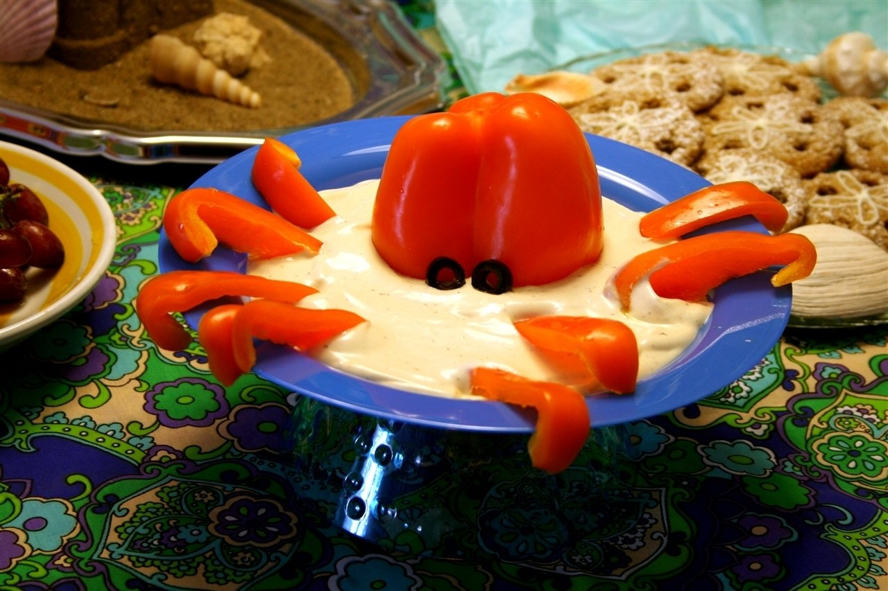10 Cute Under The Sea Party Food Ideas octopus dip for under the sea party fooddennas ideas dennas 1 2020