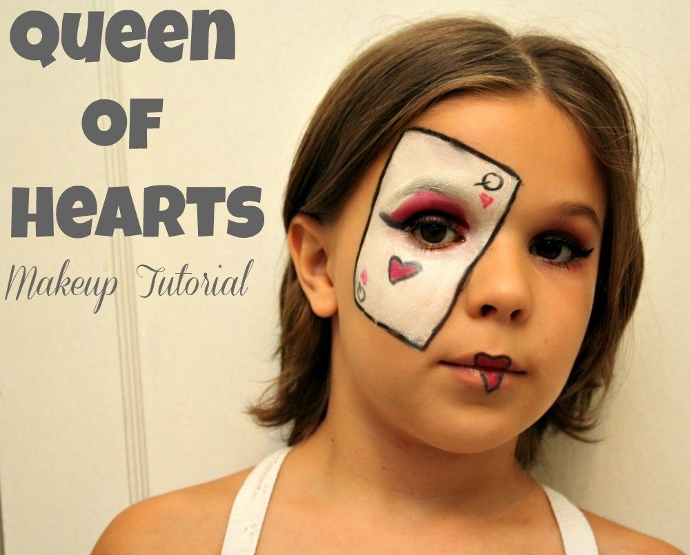 10 Trendy Queen Of Hearts Makeup Ideas of hearts makeup tutorial