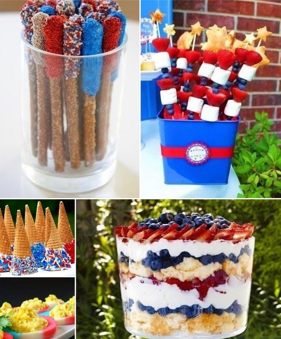 10 Fabulous 4Th Of July Foods Ideas of july food ideas pinterest 2