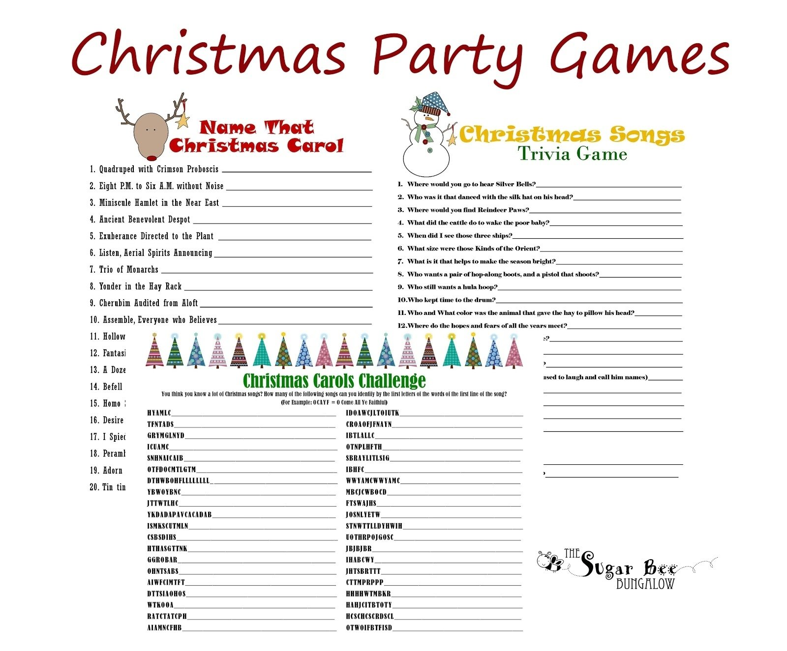 office christmas party game ideas - wedding